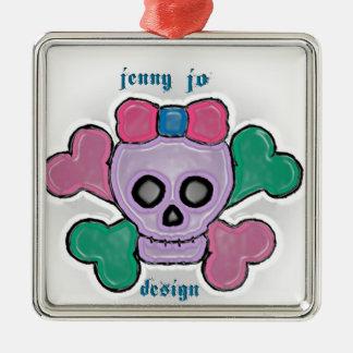ジェニーJoのデザインのロゴ メタルオーナメント
