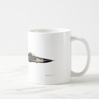 ジェネラル・ダイナミックスF-111のアリクイ コーヒーマグカップ