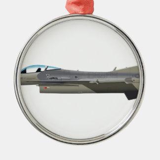 ジェネラル・ダイナミックスF-16Dの《鳥》ハヤブサAZ ANG 89012 メタルオーナメント
