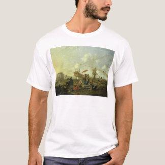 ジェノアの古い港 Tシャツ