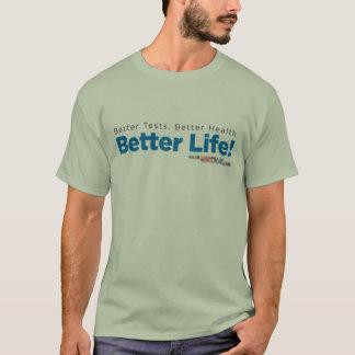 ジェノバの男性Tシャツの「よりよい生命! 「 Tシャツ
