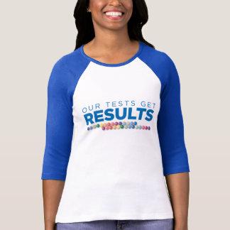 ジェノバは3/4本の袖ワイシャツ「生じます」 Tシャツ