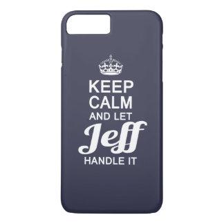 ジェフをそれを扱うことを許可して下さい! iPhone 8 PLUS/7 PLUSケース
