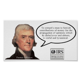 ジェファーソンの引用文ポスター ポスター