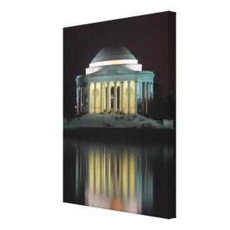 ジェファーソンの記念物 キャンバスプリント