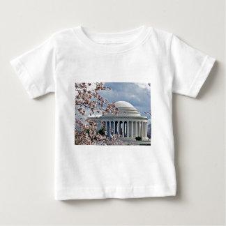 ジェファーソンの記念物-桜 ベビーTシャツ