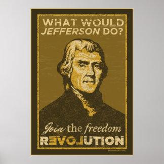 ジェファーソンは何をしますか。 ポスター