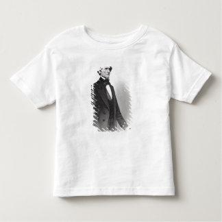ジェファーソン・デイヴィスのポートレート トドラーTシャツ