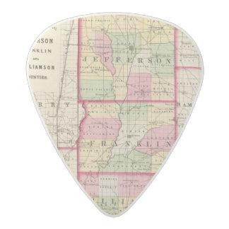 ジェファーソン、フランクリンのウィリアムソン郡 アセタール ギターピック