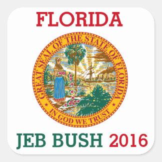 ジェブ・ブッシュ2016年のためのフロリダ スクエアシール