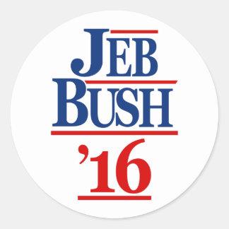 ジェブ・ブッシュ2016年 ラウンドシール