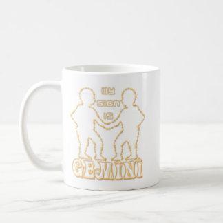 ジェミニあ私印 コーヒーマグカップ