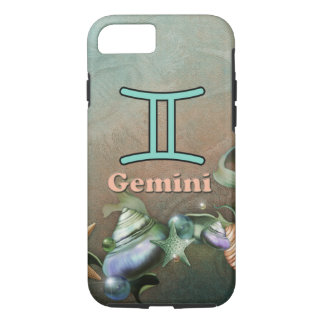 ジェミニは貝殻のiphoneの場合を空想します iPhone 8/7ケース