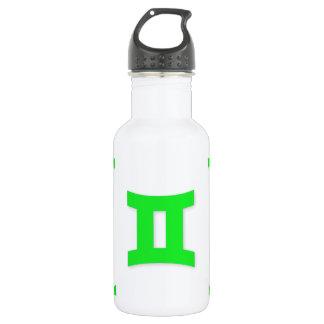 ジェミニパターン緑 ウォーターボトル