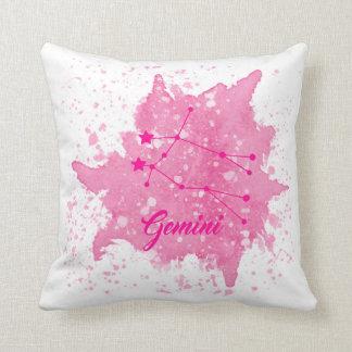 ジェミニピンクの枕 クッション