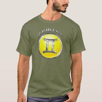ジェミニ占星術のな印 Tシャツ