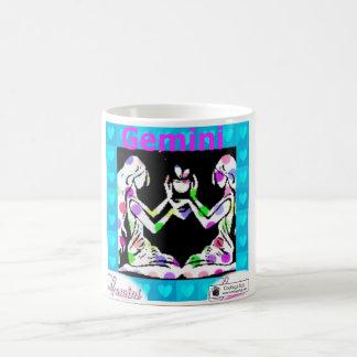 ジェミニ占星術の印 コーヒーマグカップ