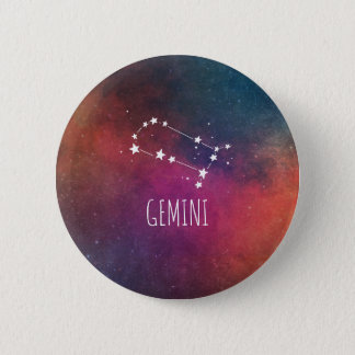 ジェミニ占星術 缶バッジ