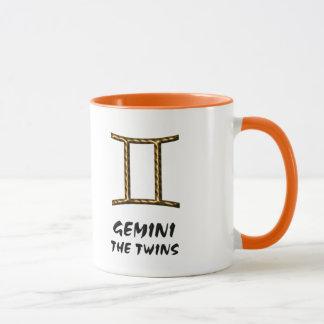 ジェミニ双生児のマグ マグカップ