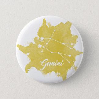 ジェミニ星の印ボタン 缶バッジ