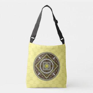 ジェミニ曼荼羅の全にプリントのバッグ クロスボディバッグ