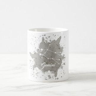 ジェミニ灰色のマグ コーヒーマグカップ