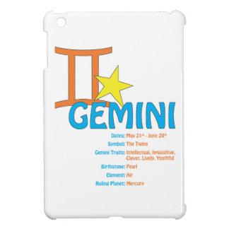 ジェミニ特性の場合 iPad MINI カバー