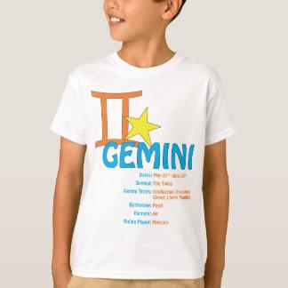 ジェミニ特性のTシャツ Tシャツ