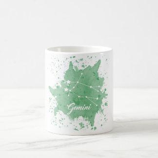 ジェミニ緑のマグ コーヒーマグカップ