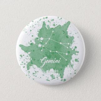 ジェミニ緑ボタン 缶バッジ