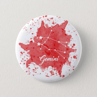 ジェミニ赤いボタン 缶バッジ