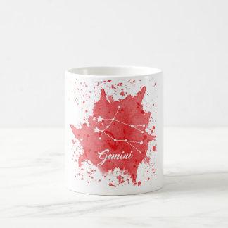ジェミニ赤のマグ コーヒーマグカップ