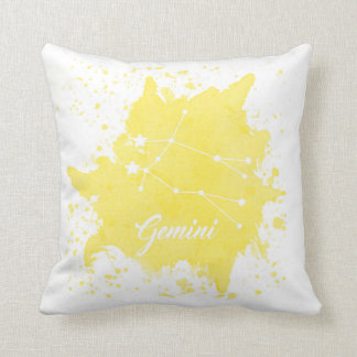 ジェミニ黄色い枕 クッション