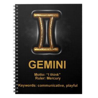 ジェミニ ノートブック