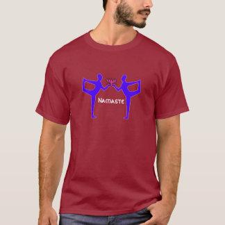 ジェミニ-ヨガのTシャツ Tシャツ