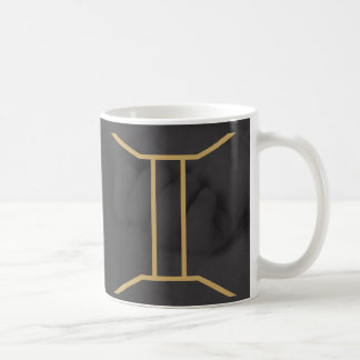 ジェミニ(占星術の)十二宮図の印|のカスタムな背景 コーヒーマグカップ