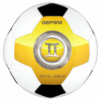 ジェミニ(占星術の)十二宮図の印 サッカーボール