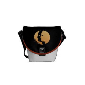 ジェミニ(占星術の)十二宮図の印 メッセンジャーバッグ