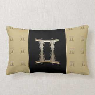 ジェミニ(占星術の)十二宮図の印 ランバークッション