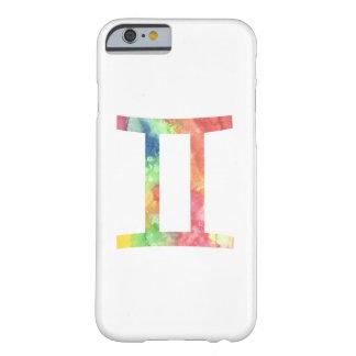 ジェミニiPhone6ケース、水彩画 Barely There iPhone 6 ケース