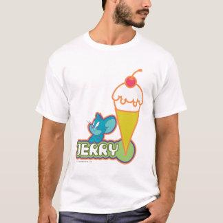 ジェリーのアイスクリーム Tシャツ