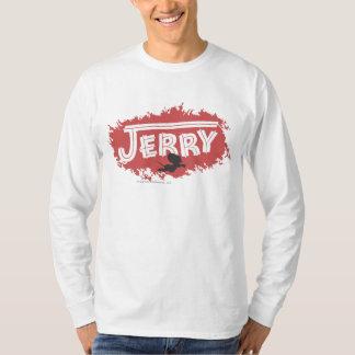 ジェリーのシルエットのロゴ Tシャツ