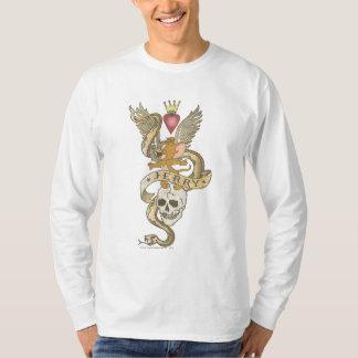 ジェリーは入れ墨2をねじりました Tシャツ