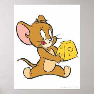 ジェリーは彼のチーズを好みます ポスター