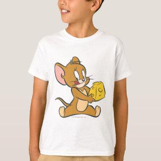 ジェリーは彼のチーズを好みます Tシャツ