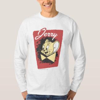 ジェリー黄色いBotiwのロゴ Tシャツ