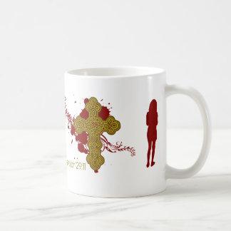 ジェレミアの29:11の女の子のマグ コーヒーマグカップ