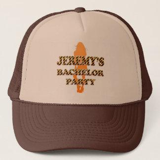 ジェレミーのバチュラーパーティ キャップ