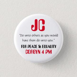 """ジェレミーCorbynは""""他に""""ボタンのバッジPinをします 3.2cm 丸型バッジ"""