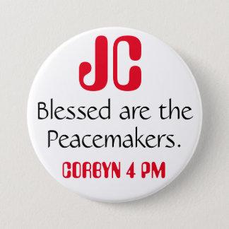 """ジェレミーCorbynは""""Blessed調印者""""のバッジです 7.6cm 丸型バッジ"""